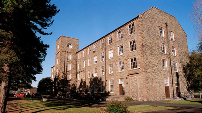 The High Mill - Current location of Heriot Watt Textile Design University