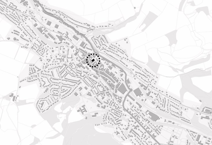 Galashiels Map